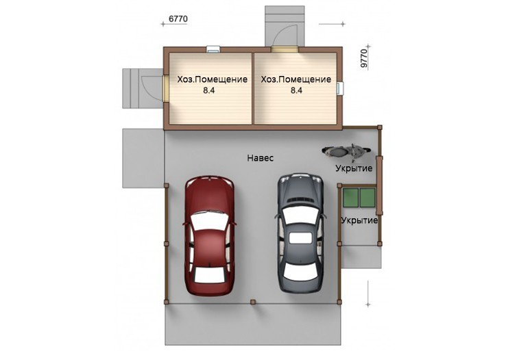 Построить гараж из пеноблоков своими руками